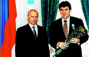 Ara Abramyan is the current president of Haludovo's supervisory board. He is also a close ally of Vladimir Putin.