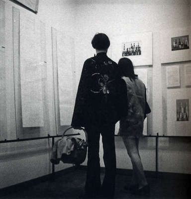 "Tendencies 4 (1969): ""Computers and Visual Research"" (via http://dada.compart-bremen.de/)"
