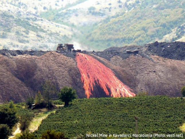 Nickel Mine in Kavadarci, Macedonia