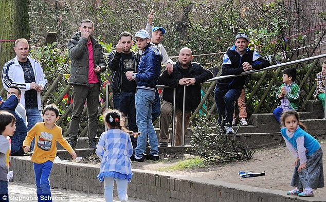 "This is not okay: Bulgarians and Romanians being ""intimidating"" in Britain (via dailymail.co.uk)"
