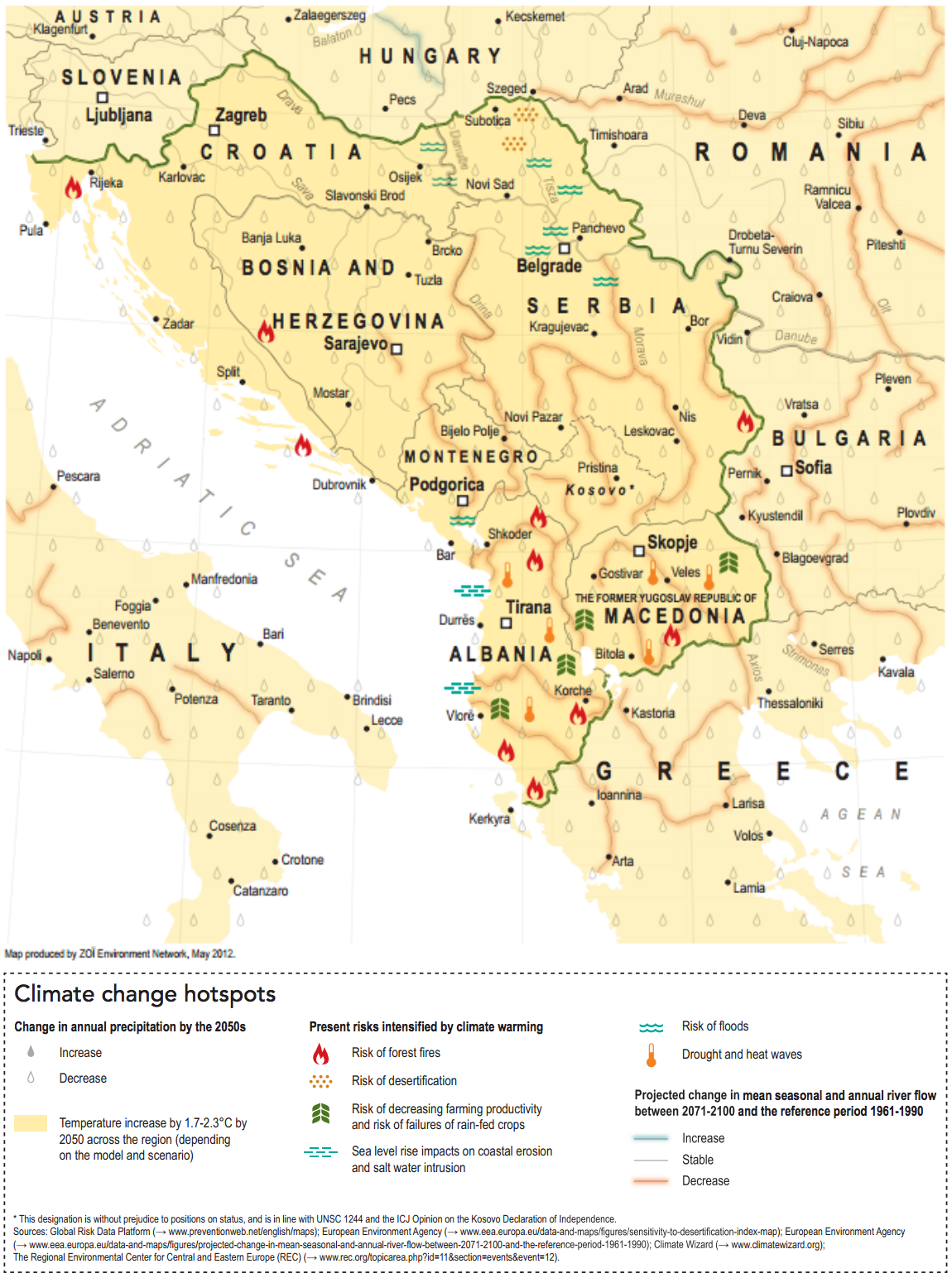 Climate Change in the West Balkans