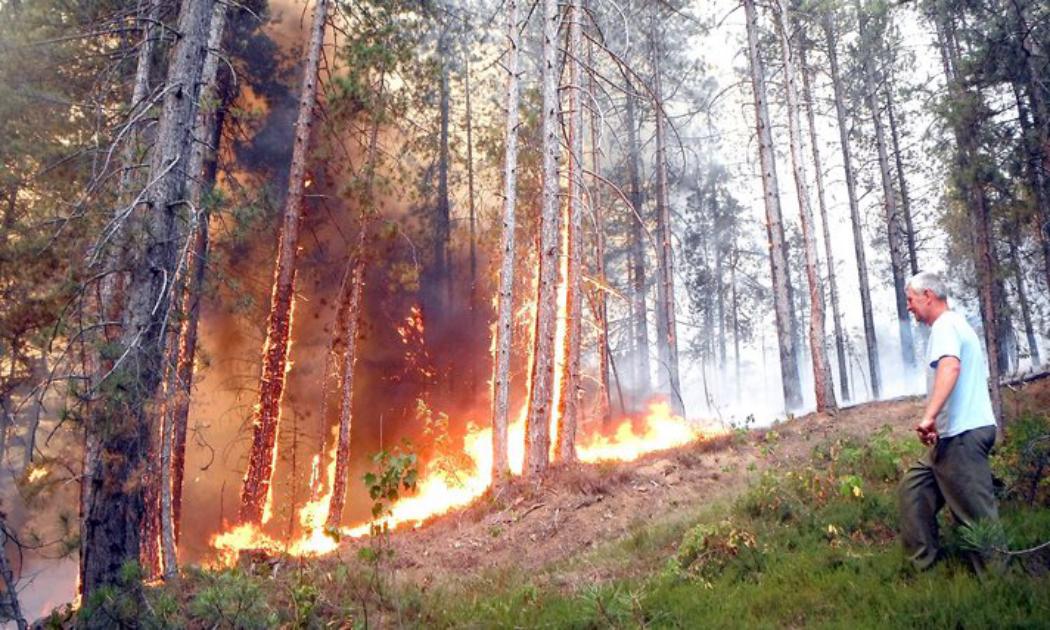 Fire in Bosnia and Herzegovina