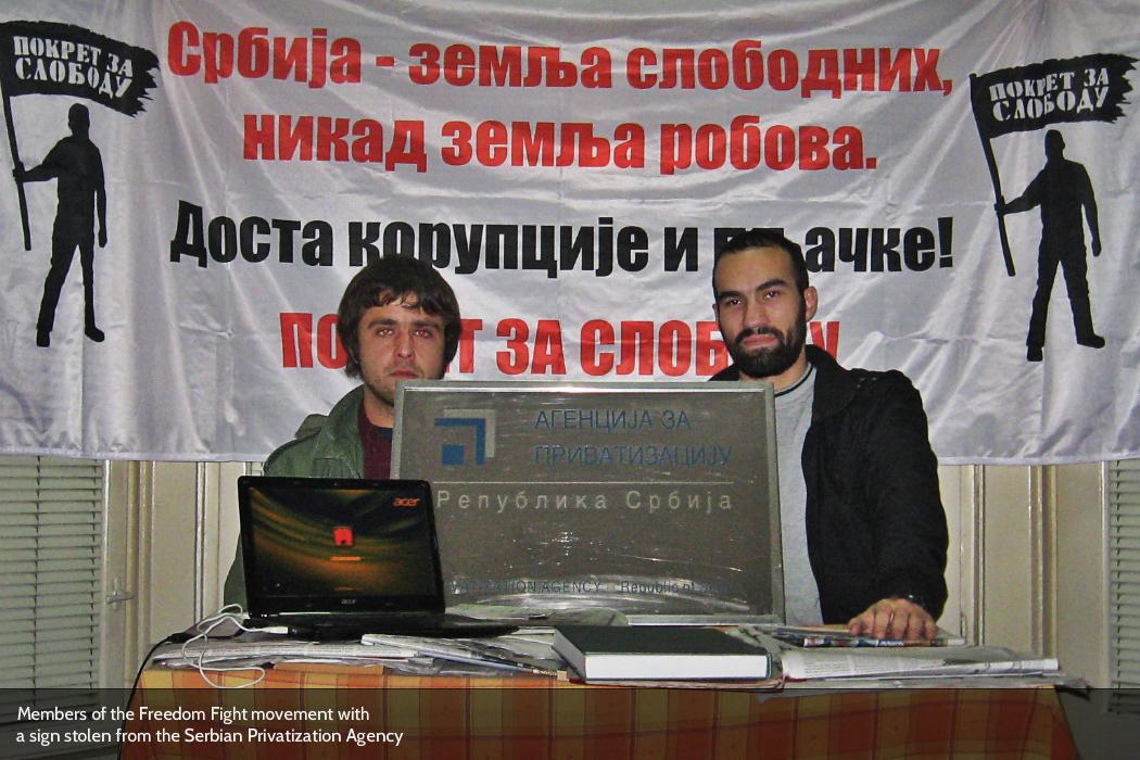 Pokret za slobodu - Serbia's Freedom Fight movement