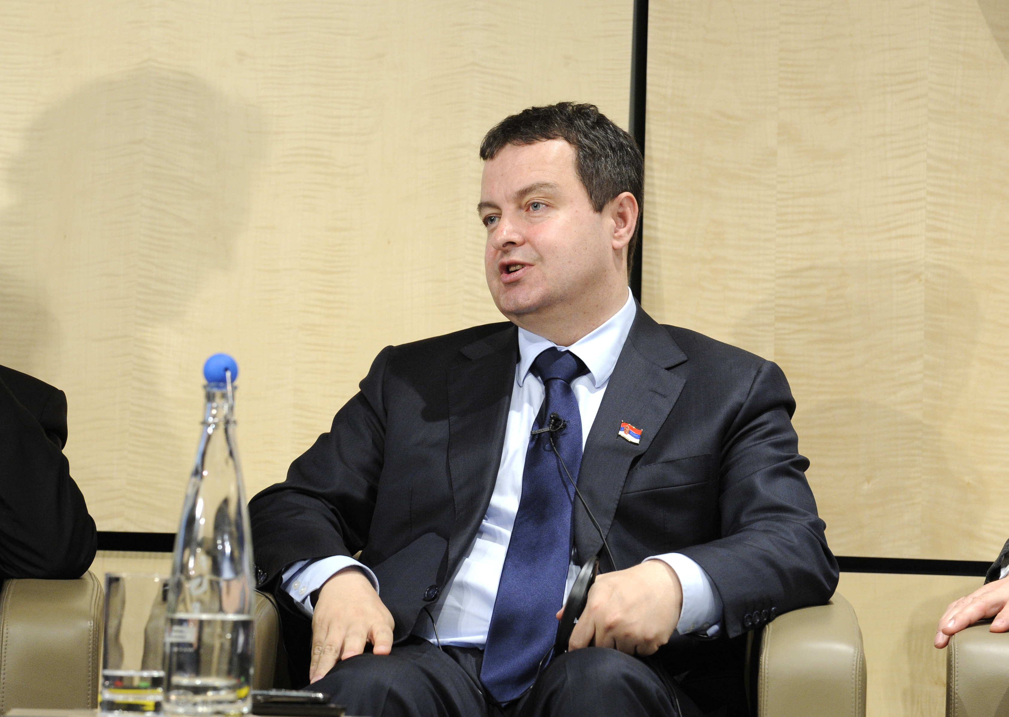 Ivica Dacic, Prime Minister of Serbia, at the Western Balkan Investment Forum (via EBRD)