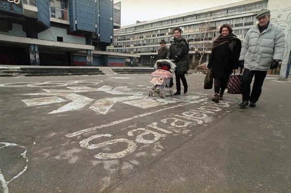 Sarajevo, 1994. (Photo credit: AP)