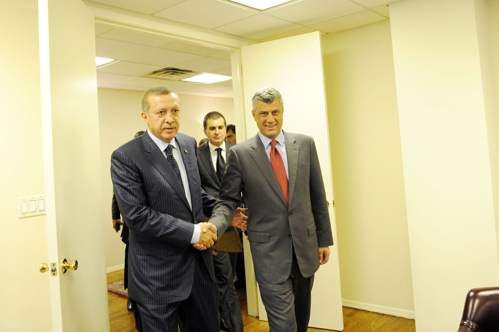 Erdogan and Thaci.