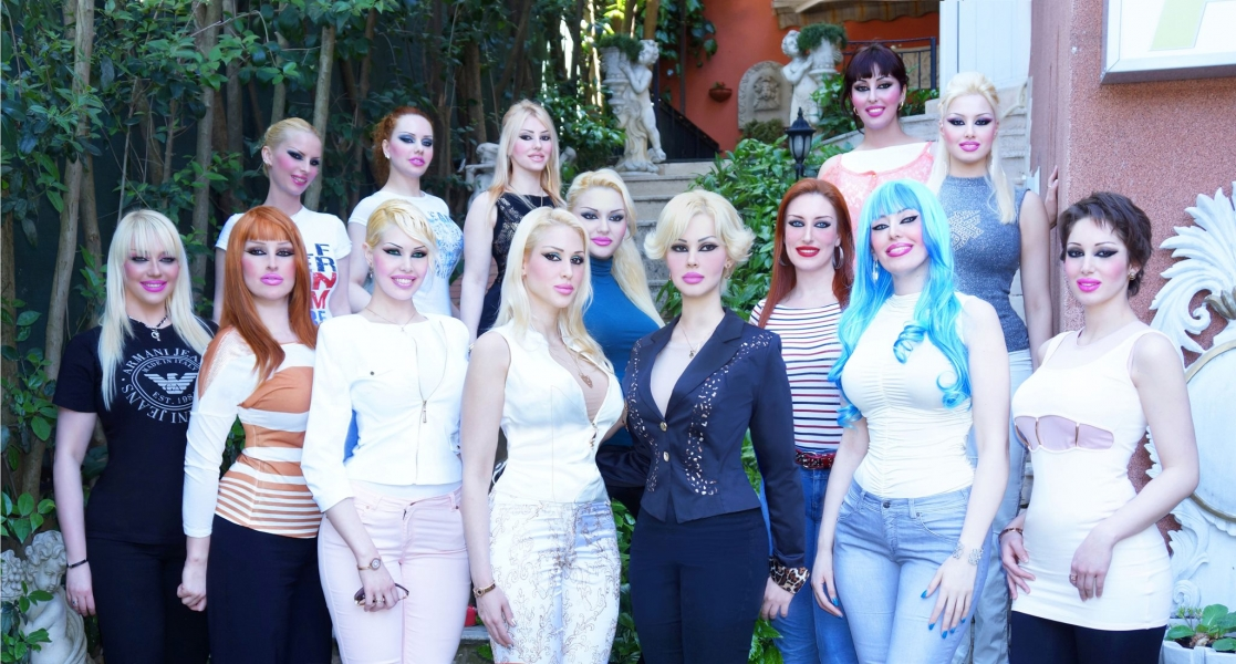"The women who appear on Adnan Oktar's show are sometimes referred to as his ""harem"" or ""kittens""."