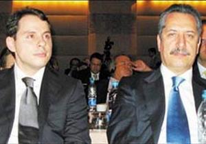Erdogan's son-in-law Berat Albayrak and billionaire Ahmet Calik.