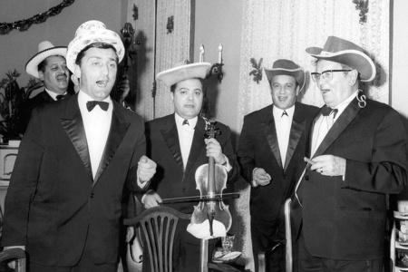 Tito partying in Brioni, 1971.