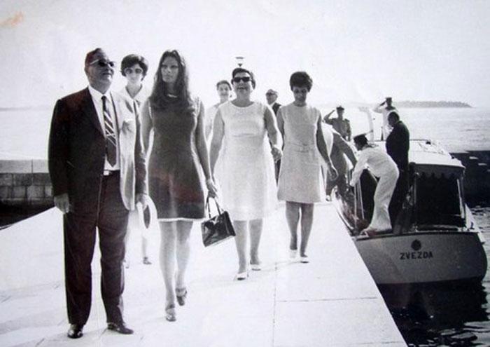 Tito and Sofia Loren