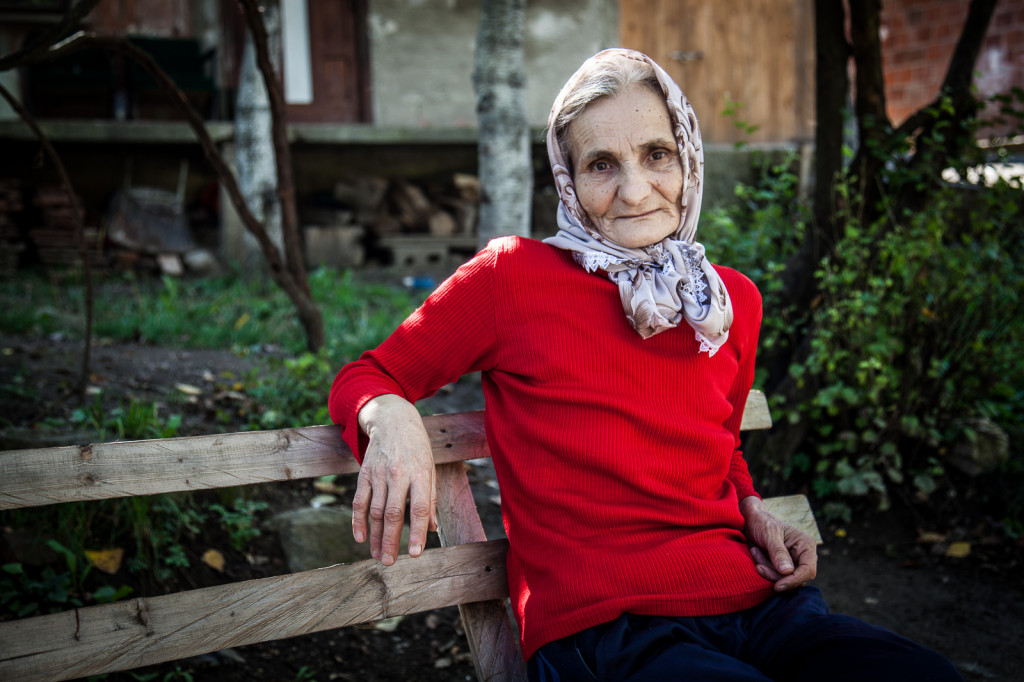 Adila Bijelic, 62, and her family have been seriously affected by Bosnia's landmine situation in multiple tragedies. Her husband Fehim was killed by a landmine in 1996. In another incident in late 2012, her son Ibrahim was badly injured while her 6-year-old grandson Tarik was fatally wounded and died in his father's arms.