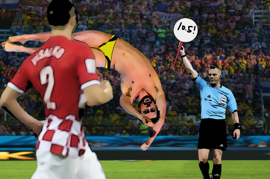 fred diving