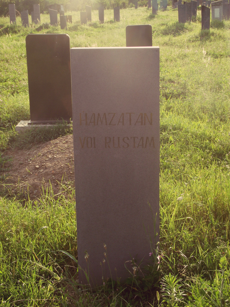 Grave in Pankisi (Photo credit: Cristina Maza)