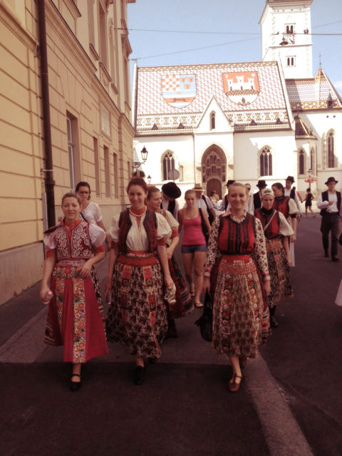 Zagreb, Summer 2013. (Photo credit: Balkanist)