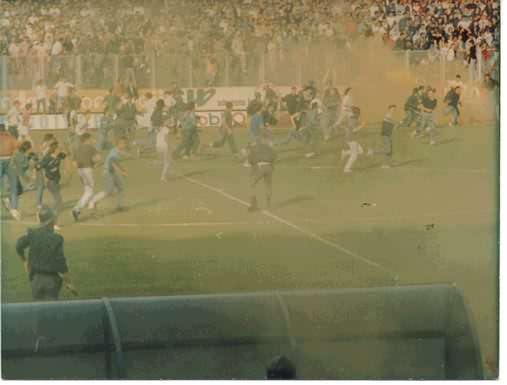 "The Red Star - Dinamo riot in Zagreb that some commentators have called the ""match that started the war"". Serbian Prime Minister Aleksandar Vucic was a participant in the violence."