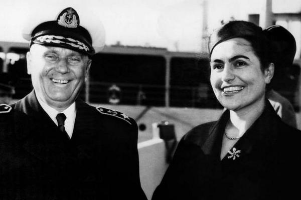 Josip Broz Tito and his wife (also a Partisan fighter) Jovanka