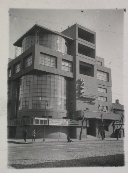 The Rusakov Workers' Club by architect Konstantin Melnikov, Moscow (1927-28). (Photo credit: The Charnel-House).