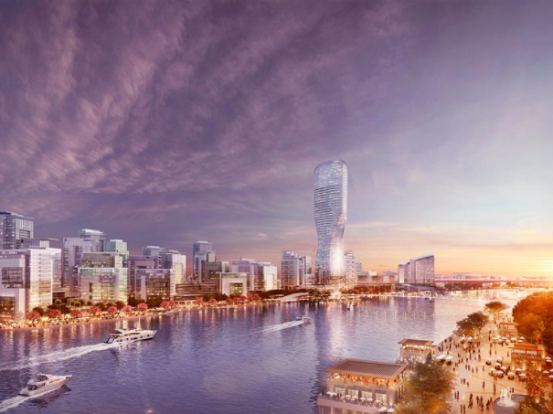 The Belgrade Waterfront project (Image credit: eaglehills.com)