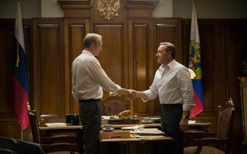 Viktor Petrov and Frank Underwood in 'House of Cards' (Photo credit: www.thedailybeast.com)