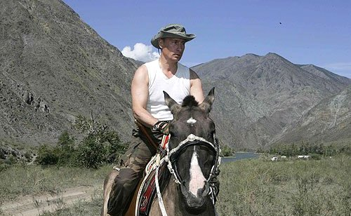 Putin in Tuva (Photo credit: http://eng/kremlin.ru)