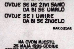 Here we don't live just to live: On Tuzla's Kapija Massacre and the Politics of Selective Memory