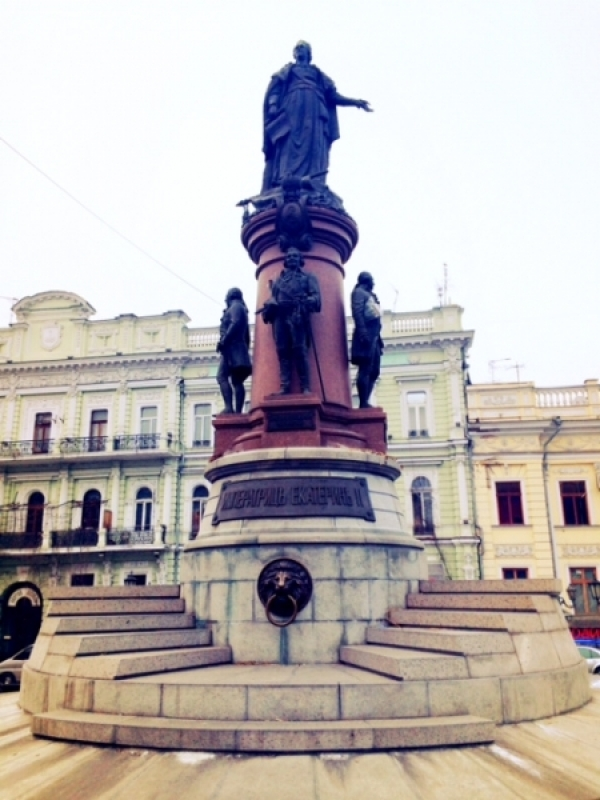 Monument to Catherine the Great, Odessa, Ukraine (Photo credit: Balkanist)