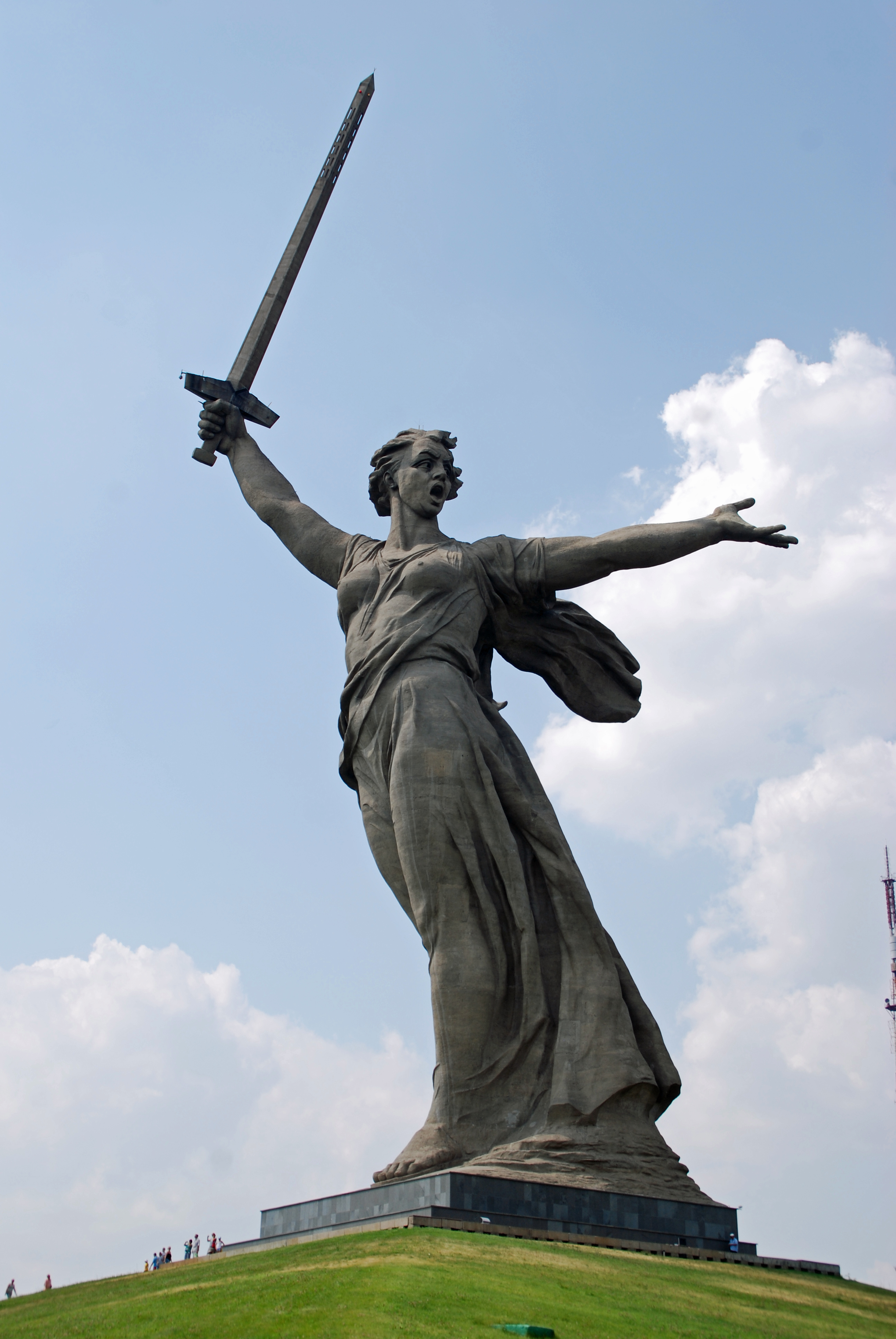 The Motherland Calls, Volgograd, Russia. Photo credit: www.bbmexplorer.com
