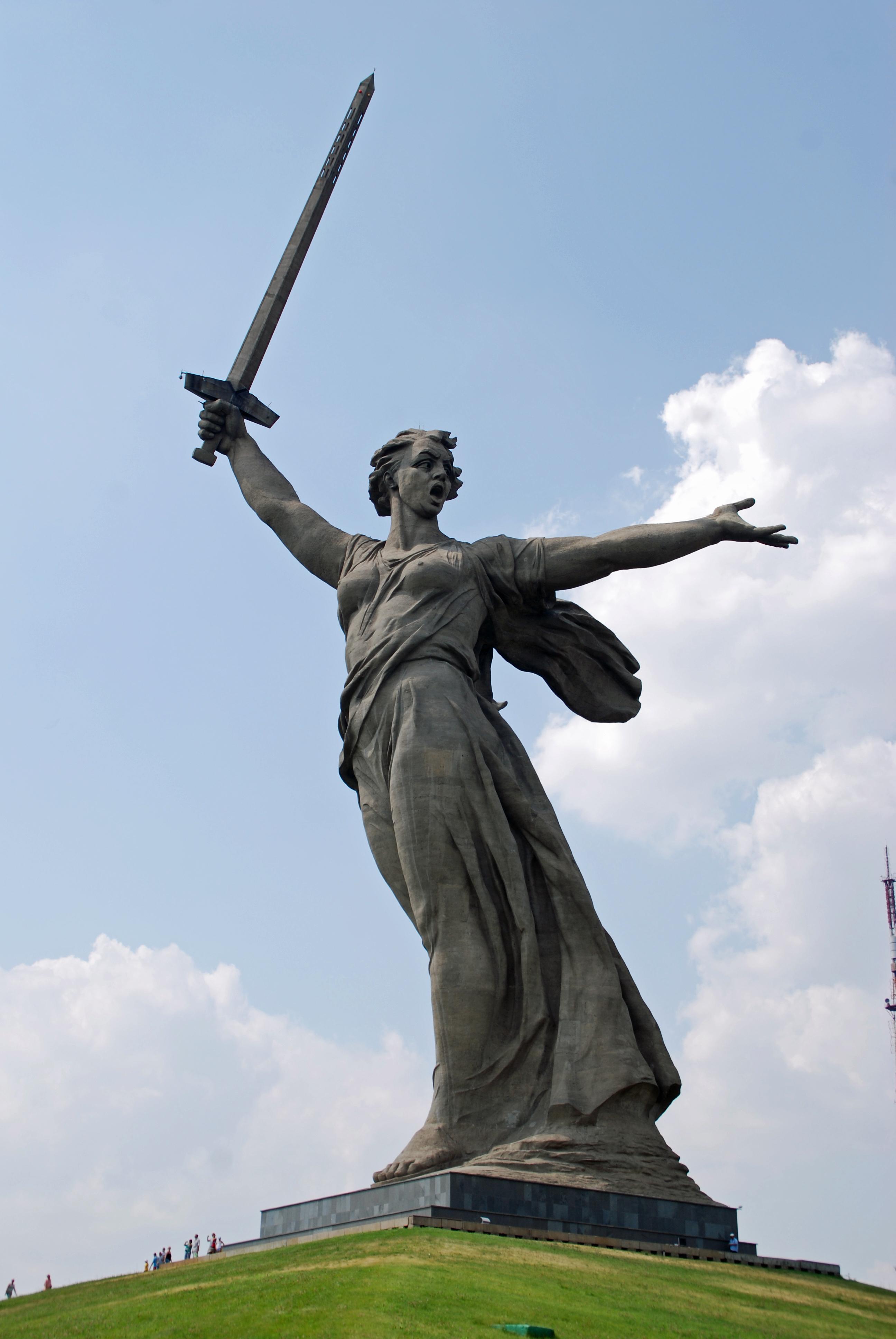 The Motherland Calls, Volgograd, Russia. Photo credit: www.bbmexplorer.com
