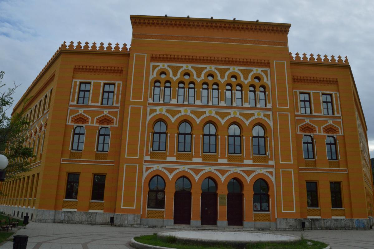 The 'Stara Gimnazija' (Photo credit: Ian Bancroft)