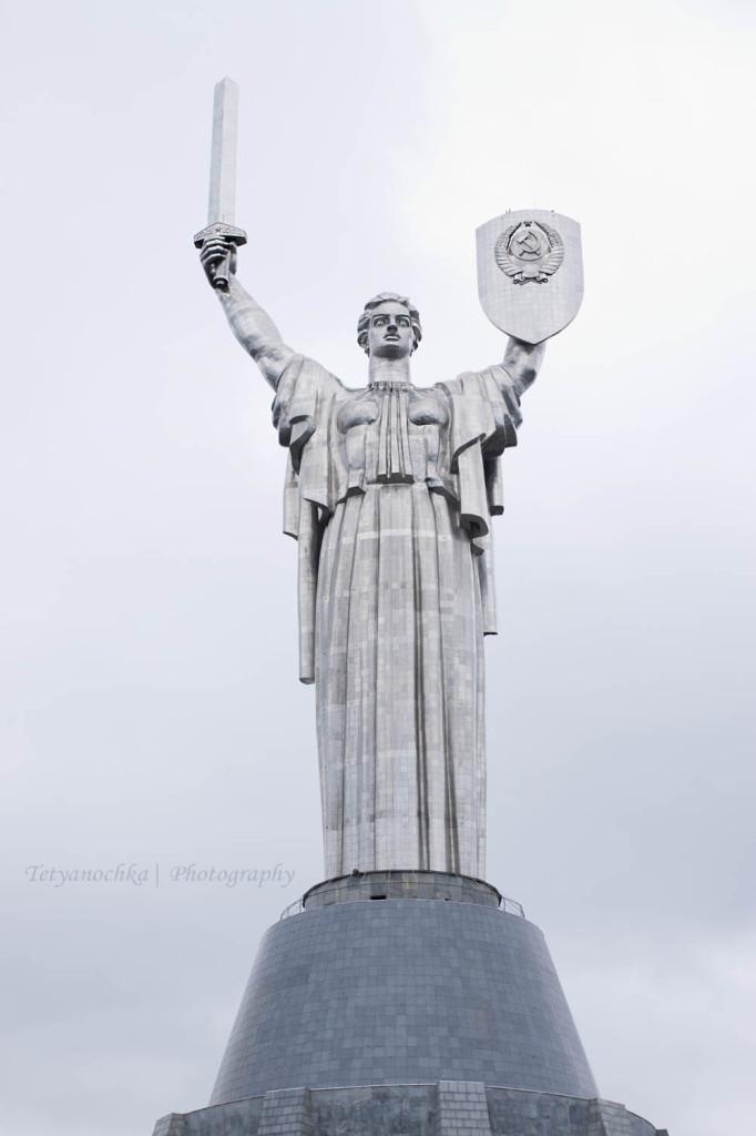The Motherland Monument, Kiev. Photo credit: Tetyanochka