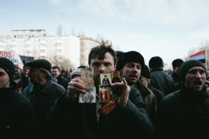 War and Holy Water in Ukraine: An Interview with Photographer Christopher Nunn
