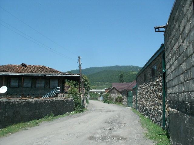 A village in Pankisi. Photo credit: Christopher Bateman.