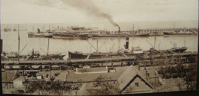 Odessa's quarantine harbor