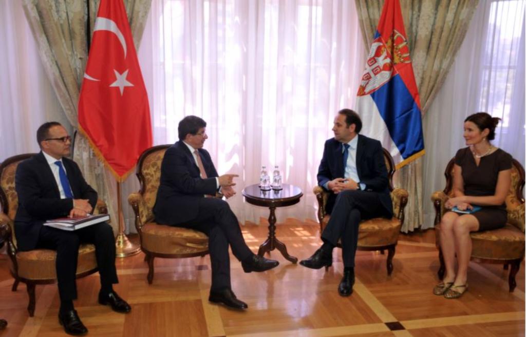 Ahmet Davutoglu and Rasim Ljajic (Photo credit: MFA Turkey)