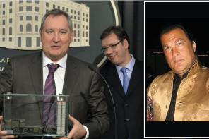 Serbia, Steven Seagal and the S-300 Missile Defense System