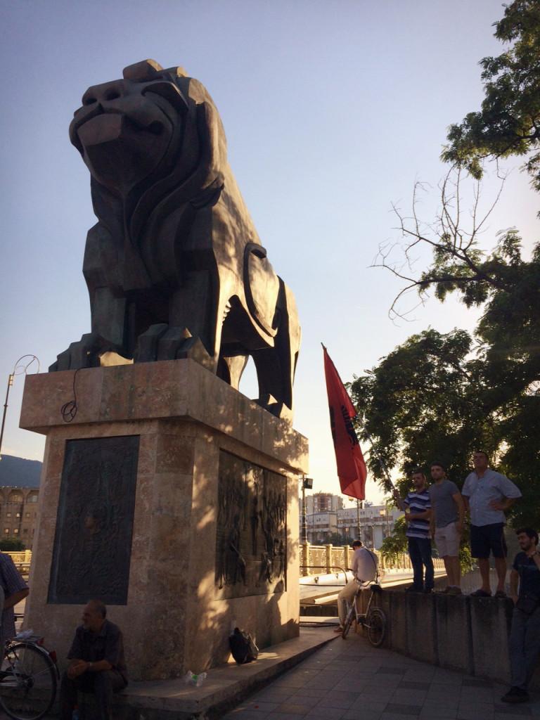 Skopje, 2015. (Photo credit: Lily Lynch/Balkanist)