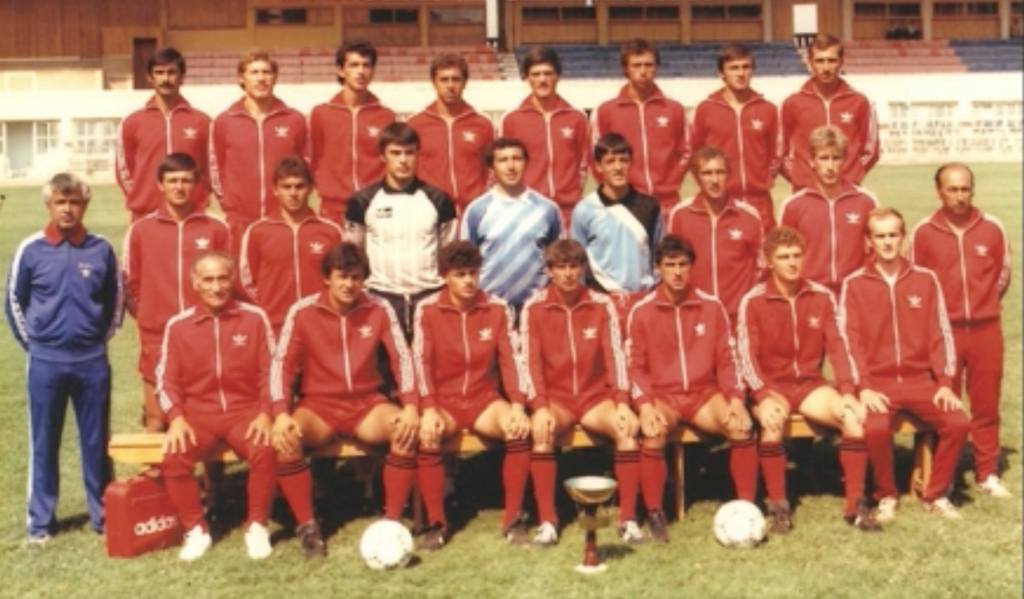 1987 Partizani Tirana (Photo credit: Dailymotion)