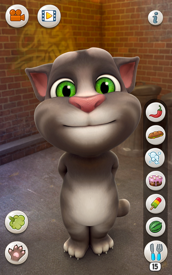 samo login-talking tom